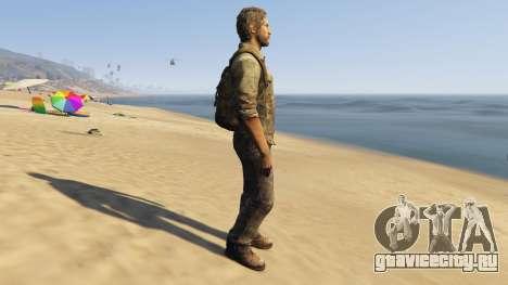 Joel The Last Of Us для GTA 5