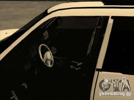Subaru Forester для GTA San Andreas вид сбоку