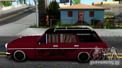 LOW Peren Without Lagguage для GTA San Andreas вид слева