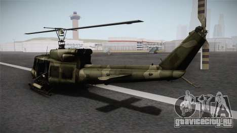 Bell UH-1N Russian для GTA San Andreas вид слева