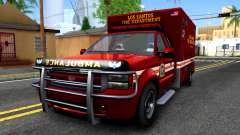 GTA V Vapid Sadler Ambulance