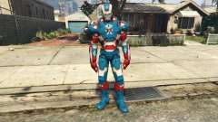 Iron Man Patriot для GTA 5