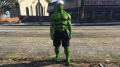 The Hulk with eyes для GTA 5