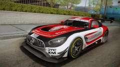 Mercedes-Benz AMG GT3 2016 PJ для GTA San Andreas