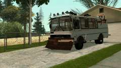 PAZ-32053 For the zombie Apocalypse для GTA San Andreas