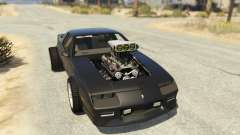 IROC-Z Big V8 Drag Car для GTA 5