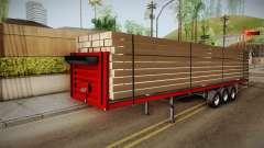 Flatbed Trailer Red для GTA San Andreas