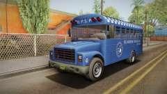 GTA 5 Vapid Police Prison Bus IVF для GTA San Andreas