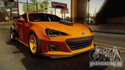 Subaru BRZ 2013 Rocket Bunny для GTA San Andreas