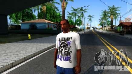 Nike Air Jordan S.O.M. Do You Know T-Shirt White для GTA San Andreas