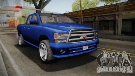 GTA 5 Bravado Bison для GTA San Andreas