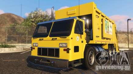 Portugal, Madeira Garbage Truck CMF Skin для GTA 5