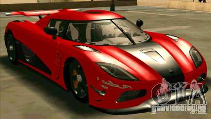 Koenigsegg Agera R NFS для GTA San Andreas
