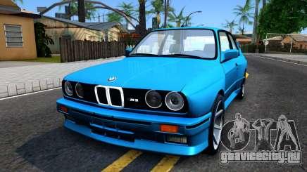 BMW M3 E30 бирюзовый для GTA San Andreas
