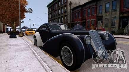 Truffade Z-Type для GTA 4