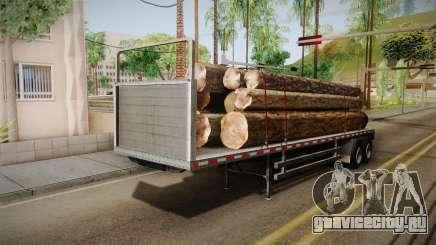 GTA 5 Log Trailer v3 IVF для GTA San Andreas