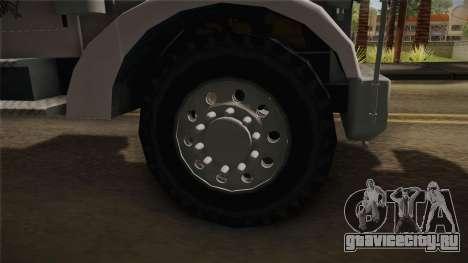 Peterbilt 351 Dump Truck для GTA San Andreas вид сзади