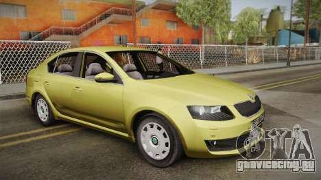 Škoda Octavia Mk3 для GTA San Andreas