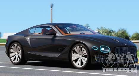 Bentley EXP 10 Speed 6 для GTA 5 вид слева