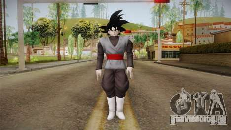 DBX2 - Goku Black для GTA San Andreas второй скриншот
