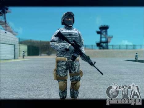 New Military USA Skin для GTA San Andreas четвёртый скриншот