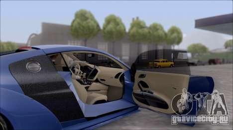 Audi R8 5.2 V10 Plus LB Walk V2.0 для GTA San Andreas вид справа