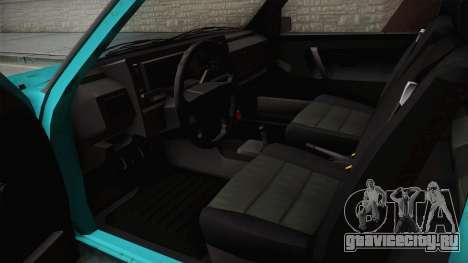 Volkswagen Golf Mk2 1991 для GTA San Andreas вид сзади слева