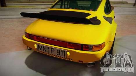RUF CTR Yellowbird (911 930) 1987 для GTA San Andreas вид справа