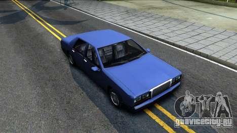 Restyle Elegant для GTA San Andreas вид справа