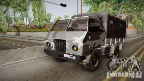 TAM 110 Vojno Vozilo для GTA San Andreas вид справа
