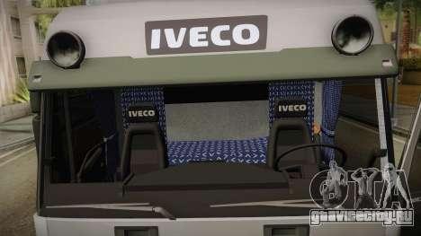 Iveco Eurotech 400E34 Tandem v2.0 для GTA San Andreas вид сбоку