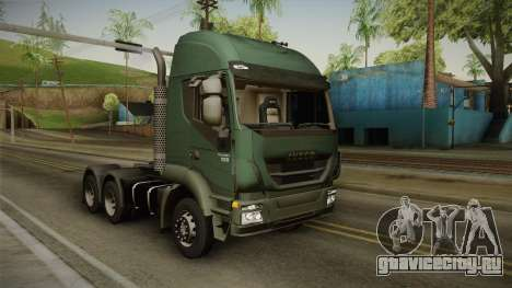 Iveco Trakker Hi-Land 6x4 Cab High v3.0 для GTA San Andreas