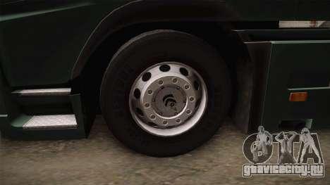 Volvo FH12 для GTA San Andreas вид сзади
