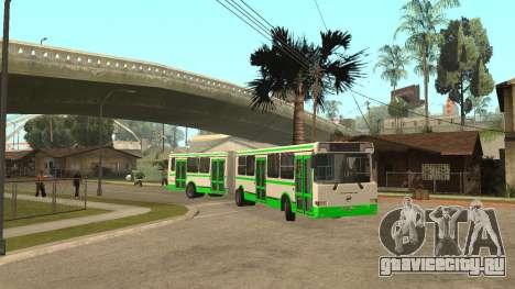 ЛиАЗ-6212 для GTA San Andreas