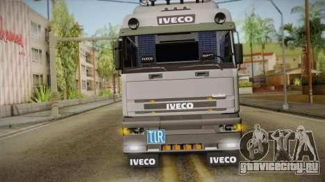 Iveco Eurotech 400E34 Tandem v2.0 для GTA San Andreas вид сзади