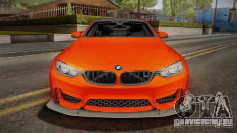 BMW M4 LB Performance для GTA San Andreas вид справа