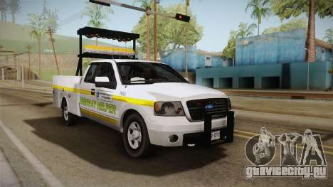 Ford F-150 2005 San Andreas DOT Highway Helper для GTA San Andreas