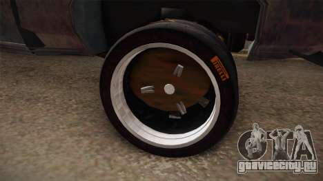 Ford Gran Torino Mad Max для GTA San Andreas вид сзади