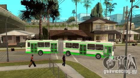 ЛиАЗ-6212 для GTA San Andreas вид слева