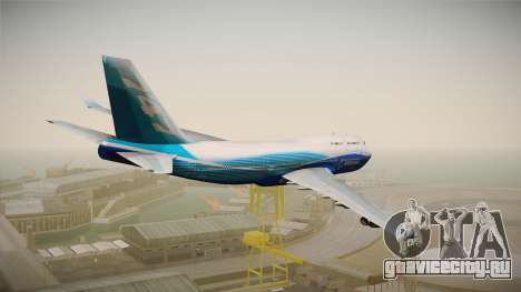 Boeing 747-400 House для GTA San Andreas вид справа
