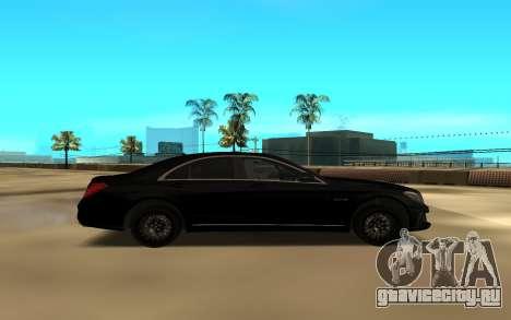 Mercedes-Benz S-Class для GTA San Andreas вид слева