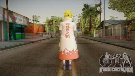 Minato Hokage Outfit для GTA San Andreas третий скриншот