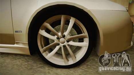 Alfa Romeo 159 для GTA San Andreas вид сзади