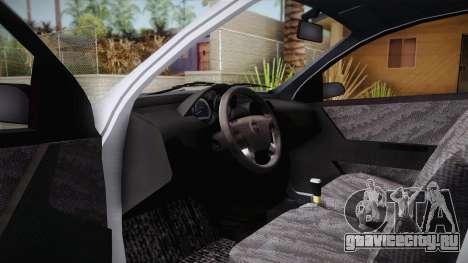 Chevrolet Aveo Turkish Police для GTA San Andreas вид справа
