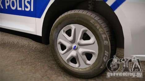 Ford Taurus Turkish Traffic Police для GTA San Andreas вид сзади