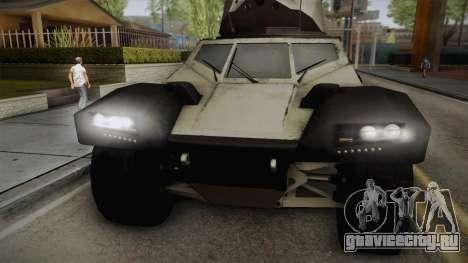 Panhard CRAB для GTA San Andreas вид сзади слева