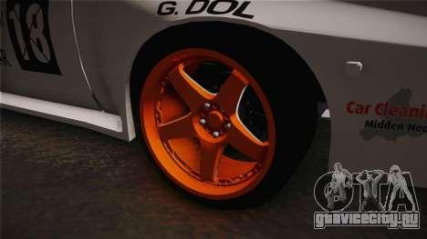 Opel Manta Drift для GTA San Andreas вид сзади