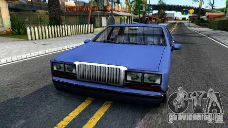 Restyle Elegant для GTA San Andreas