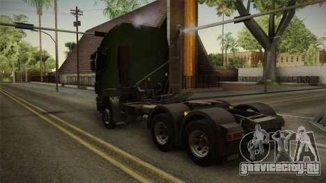 Iveco Trakker Hi-Land 6x4 Cab High v3.0 для GTA San Andreas вид слева