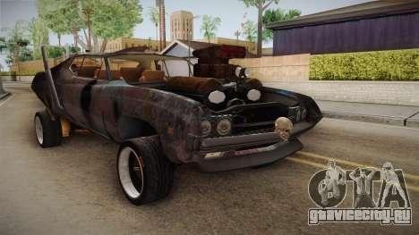 Ford Gran Torino Mad Max для GTA San Andreas вид справа